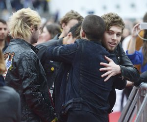 luke hemmings, 5sos, and LUke image