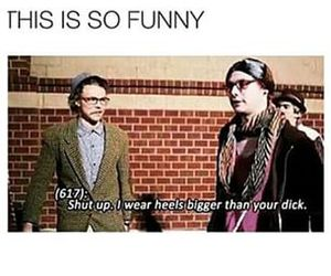 Died, funny, and high heels image