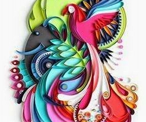 quilling art, quilling ideas, and quilling patterns image