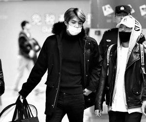 sehun, exo, and baekhyun image
