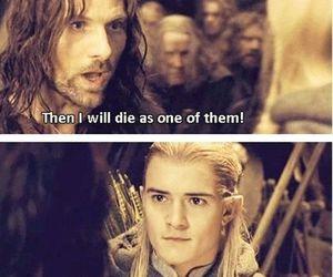 Legolas, aragorn, and funny image