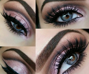 eyebrow, cosmetics, and eyeshadow image