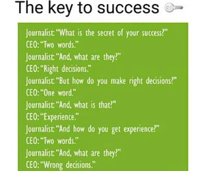 key and succes image