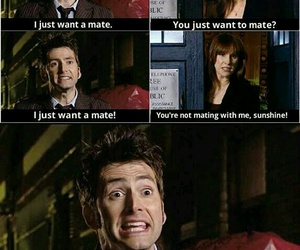 david tennant, donna noble, and catherine tate image