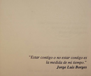 love, quotes, and borges image