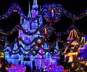 christmas, disney, and lights image