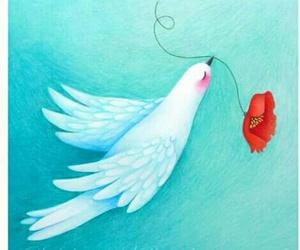 dibujos, ilustracion, and paloma image
