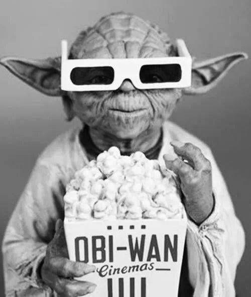star wars, yoda, and cinema image