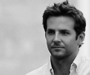 blackandwhite, celebrities, and bradleycooper image