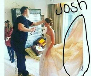 Jennifer Lawrence, hunger games, and josh hutcherson image