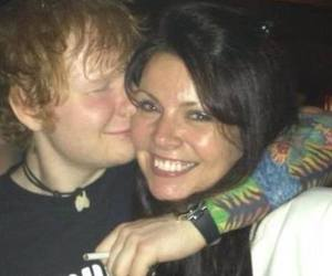 ed sheeran, anne cox, and Harry Styles image