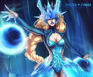 syndra, league of legends, and leagueoflegends image