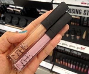 nars, makeup, and lipgloss image