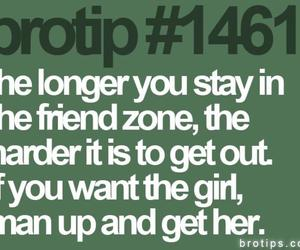 girl, man up, and friends image