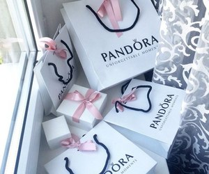 pandora, luxury, and shopping image