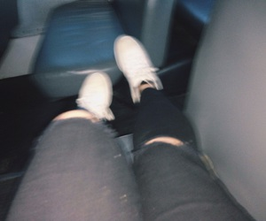 artsy, bus, and jeans image