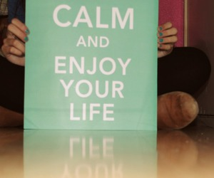 calm, chic, and enjoy image