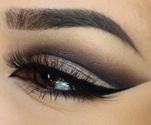 makeup, perfect, and brown image