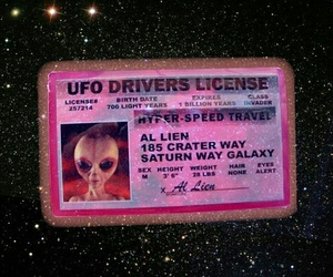 alien, grunge, and space image