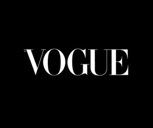 black, Logo, and vogue image