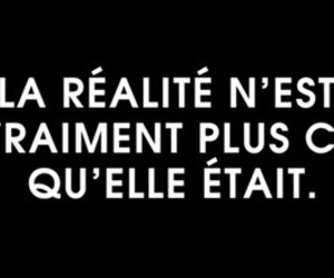 french, quotes, and reality image