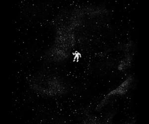 stars, astronaut, and art image