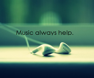 help, music, and quotes image