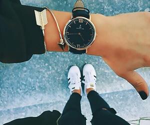 fashion, watch, and adidas image