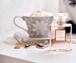 chanel, perfume, and audrey hepburn image