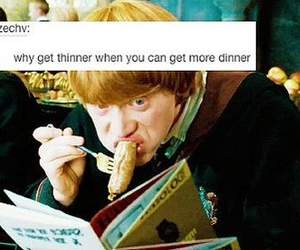 harry potter, ron weasley, and funny image