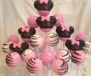 cake, cake pops, and candy image