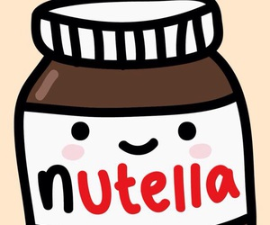 nutella and cute image