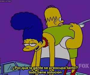 simpsons, frases, and marge image