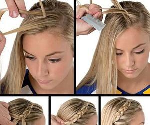 diy, hair, and trenza image
