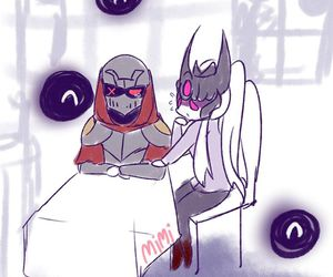 syndra and zedleague of legends image