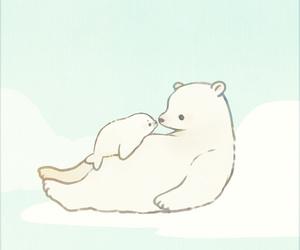 anime, bear, and cute image