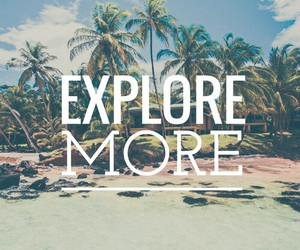 beach, quotes, and travel image