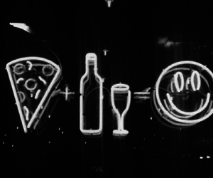 pizza, happy, and light image