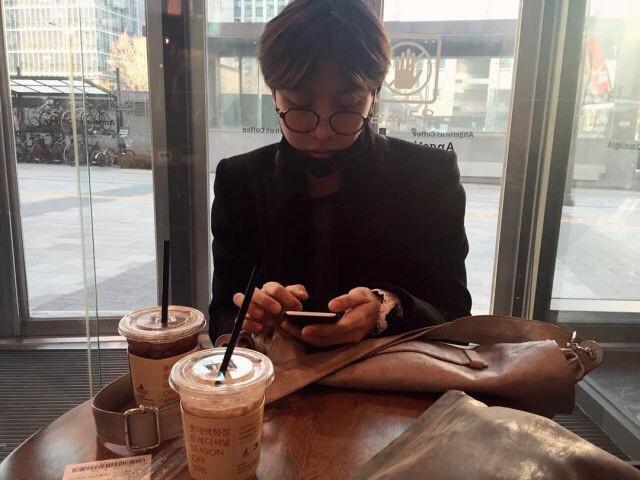 Jhope Via His Sister S Instagram On We Heart It