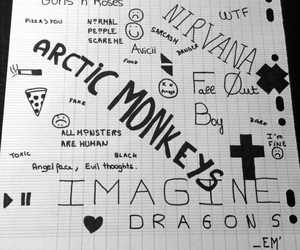 arctic monkeys, cross, and danger image