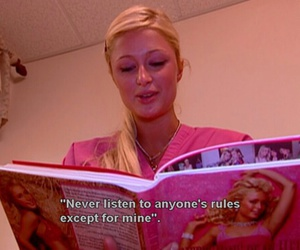 pink, paris hilton, and quotes image