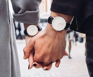 couple, boy, and watch image