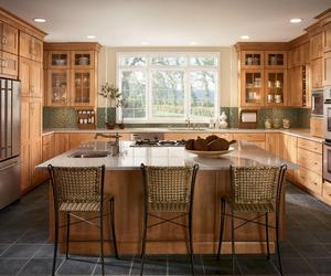 wooden cabinets, wood kitchen cabinets, and cabinet cleaner image