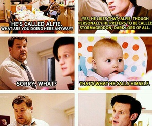 doctor who, baby, and funny image