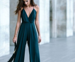 jumpsuit and green image