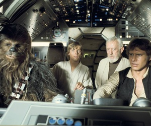 han solo, harrison ford, and luke skywalker image