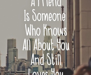 friends, quote, and someone image