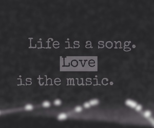 music, quote, and yolo image