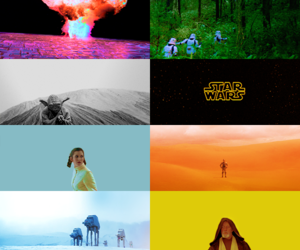 colors, movie, and star wars image
