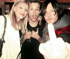 louis tomlinson, one direction, and norman reedus image